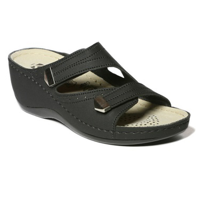 Neroli-black-strappy-wedge-comfort-mule-sandal-1