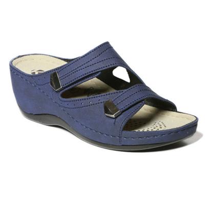 Neroli-navy-strappy-wedge-comfort-mule-sandal-1