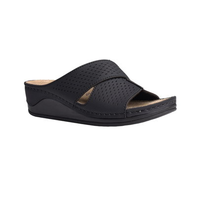 Ash-black-medium-wedge-comfort-mule-1