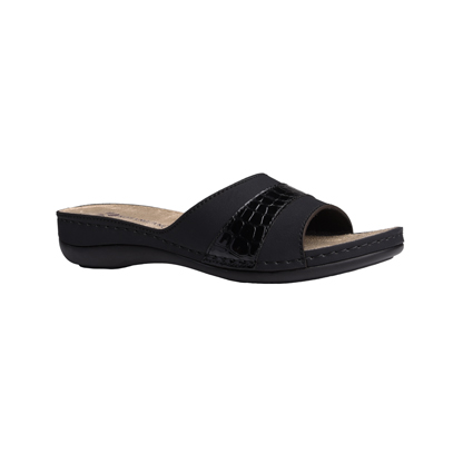 Cypress-black-low-wedge-comfort-mule-1