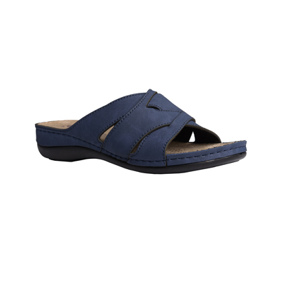 Fir-navy-low-wedge-strappy-comfort-mule-1