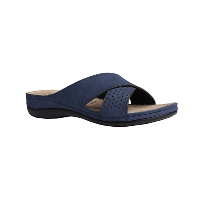 Larch-navy-low-wedge-strappy-comfort-mule-1