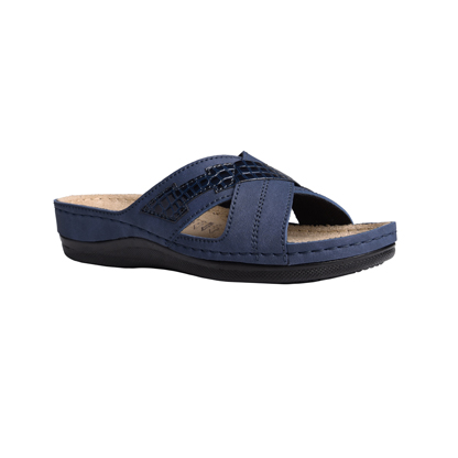 Spruce-navy-low-wedge-comfort-mule-1