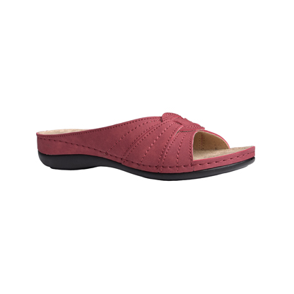 Yew-Bordeaux-low-wedge-comfort-mule-1