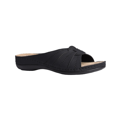 Yew-matt-black-low-wedge-comfort-mule-1