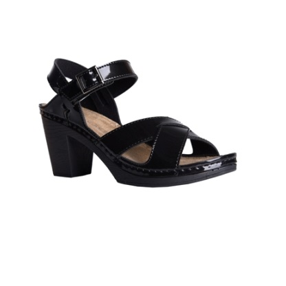 Juniper-shiny-black-strappy-heeled-sandals-1
