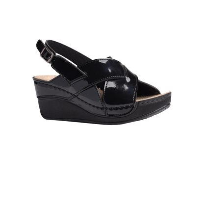 Oak-shiny-black-wedge-heeled-slingback-sandals-1