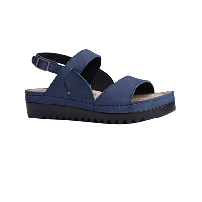 Osier-navy-flatform-buckled-back-strap-1