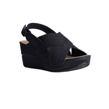 Oak-black-wedge-heeled-slingback-sandals-1